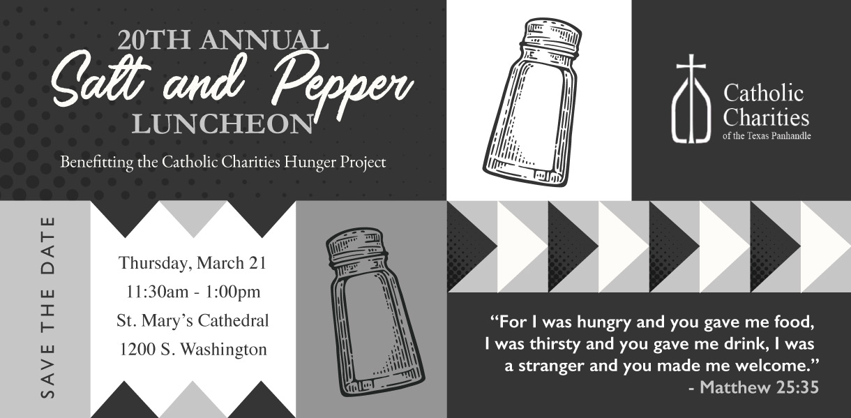 20th Annual Salt and Pepper Luncheon Invitation