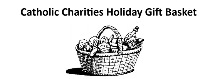 Holiday Gift Basket Graphic